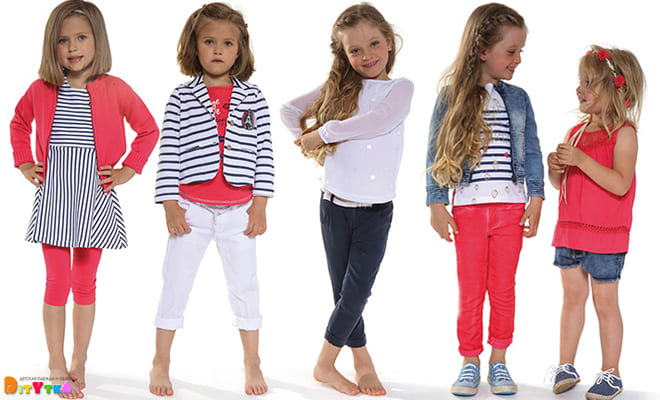 "Clothes for girls 3POMMES collection ""Cargo Gold"""
