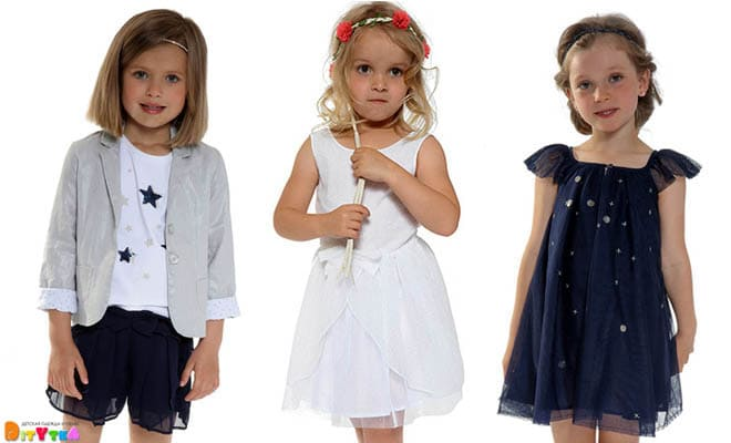 "Clothes for girls 3POMMES collection ""Ceremonie"""