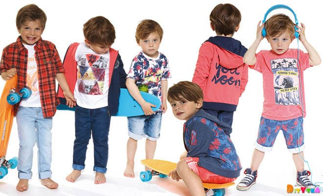"Clothes for boys 3POMMES collection ""Deep Summer"""