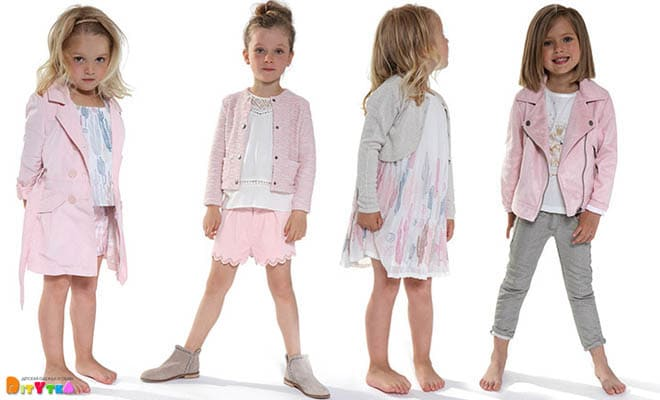 """Clothes for girls 3POMMES collection """"La Vie en Rose"""""""