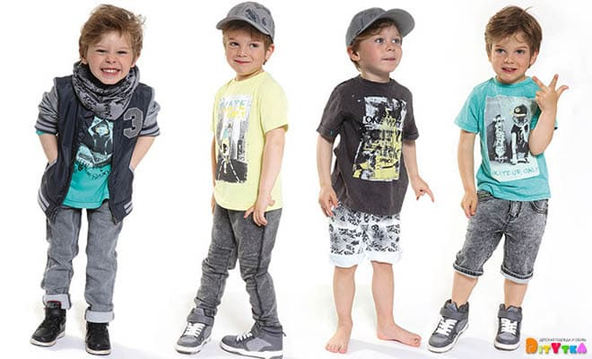 "Clothes for boys 3POMMES collection ""Rebel Touch"""