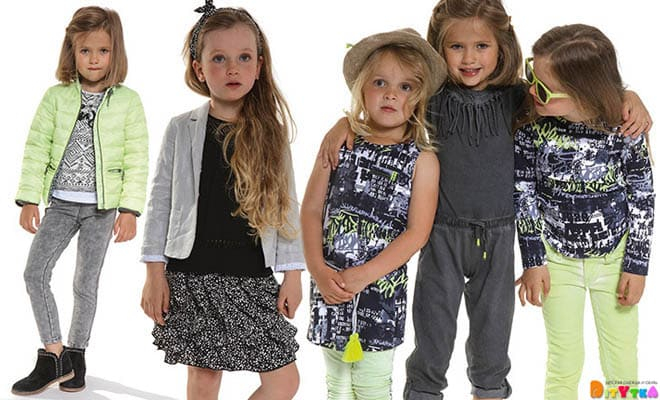 "Clothes for girls 3POMMES collection ""Rock Me"""