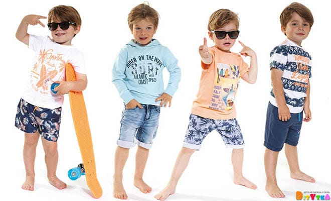 "Clothes for boys 3POMMES collection ""Summer Dressing"""