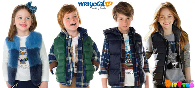 Children's vests-fashionable outerwear for autumn Mayoral