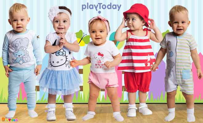 Baby Clothing PLAY TODAY