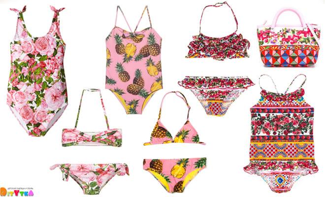 Luxury children's swimwear from Dolce Gabbana Kids