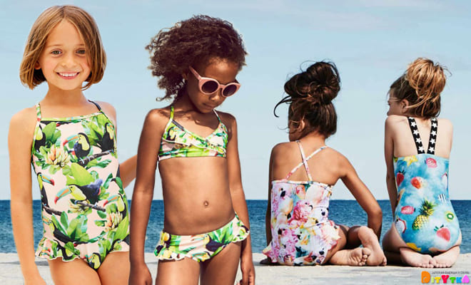 Original swimwear for girls from Molo