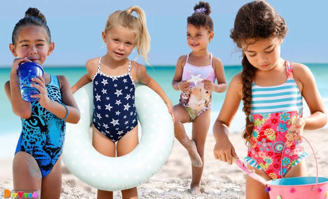Bright models of children's swimwear from bonprix