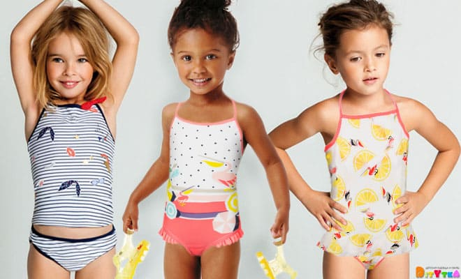 Swimsuits for girls from Catimini