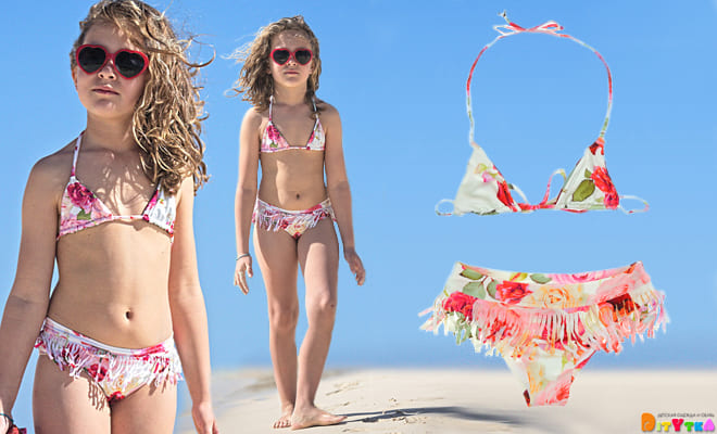 Adorable swimwear for babes from Monnalisa