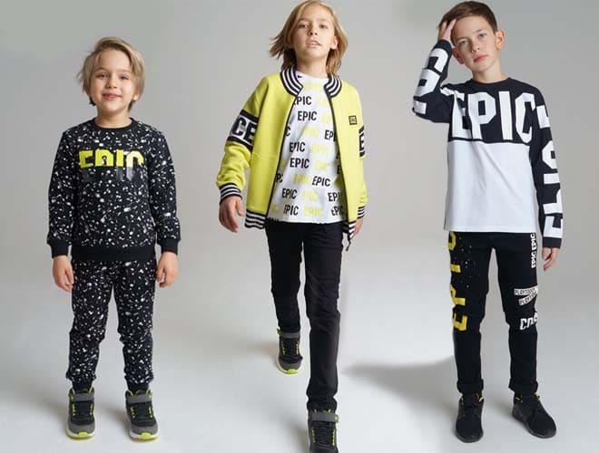 EPIC PlayToday - stylish clothing for boys