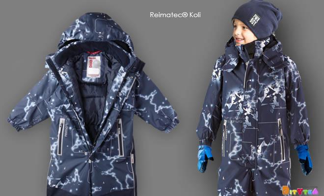 Reimatec ® KOLI glowing winter jumpsuit from REIMA