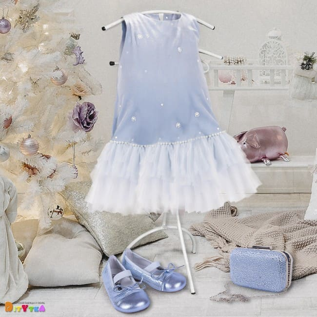 The INEY festive collection from Gulliver a dress, a bag and shoes
