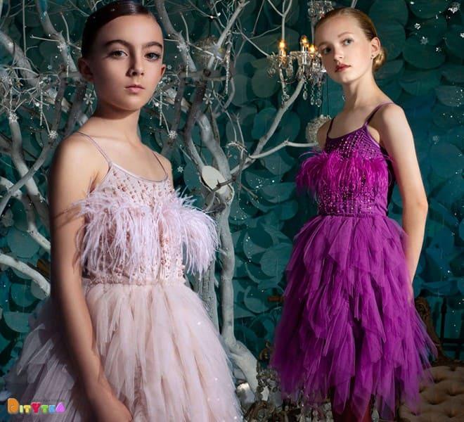 Dresses 'Dancing Duchess' Tutu Du Monde color POWDER and AMETHYST