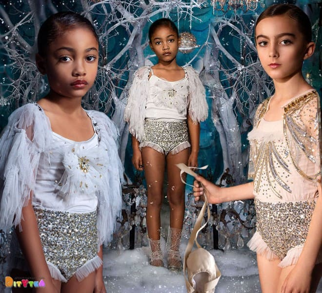 Body 'Evening Star', 'Dainty' and 'Fireworks' Tutu Du Monde, Once Upon A Holiday Collection