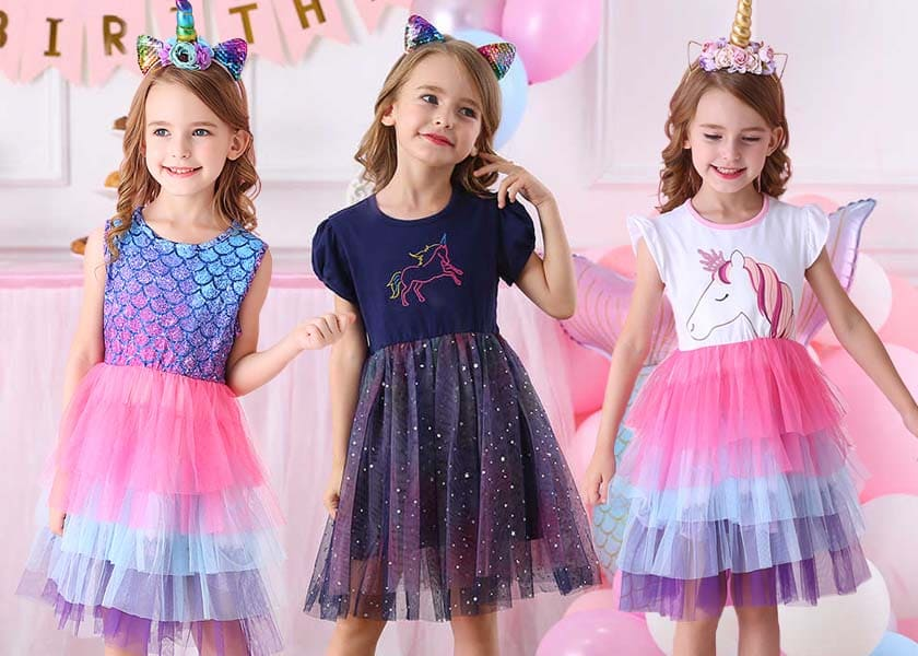 Children's dresses VIKITA LH4993