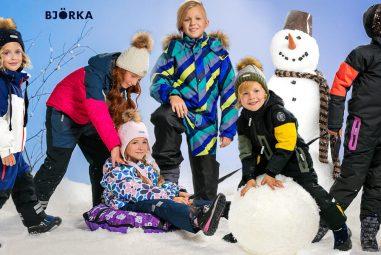 Новый бренд детской одежды BJÖRKA