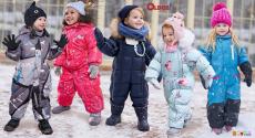 Детские зимние комбинезоны OLDOS