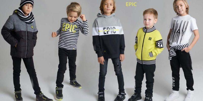 EPIC PlayToday – стильная одежда для мальчиков