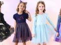 Очаровательные детские платья VIKITA