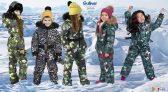 Детские зимние комбинезоны Gulliver осень-зима 2018-2019